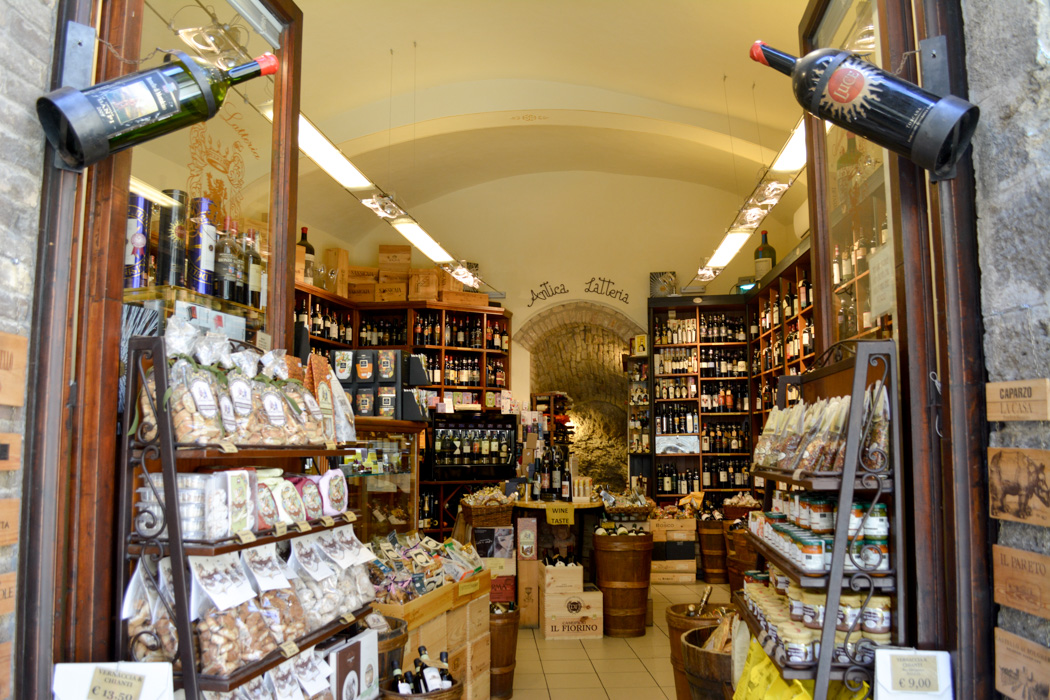 San Gimignano Wine Shop