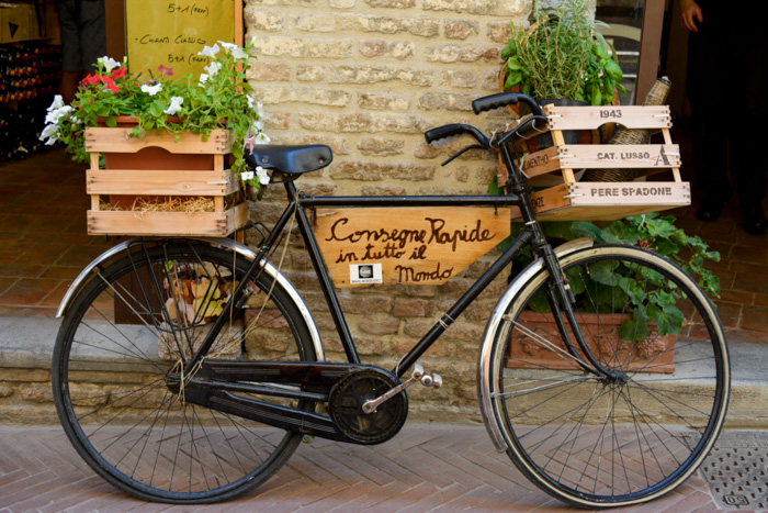San Gimignano bicycle